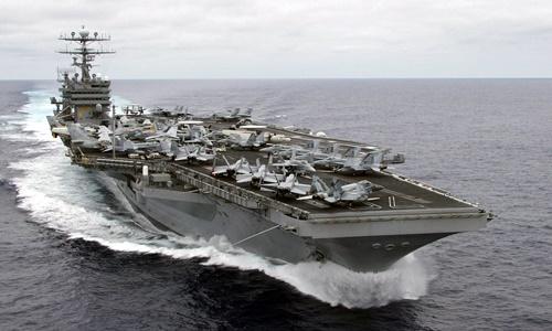 Tàu sân bay USS Carl Vinson. Ảnh: Wikimedia Commons.