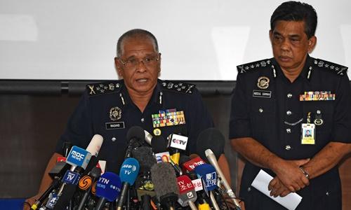 Phó tổng thanh tra cảnh sát Malaysia Noor Rashid Ibrahim. Ảnh: AFP