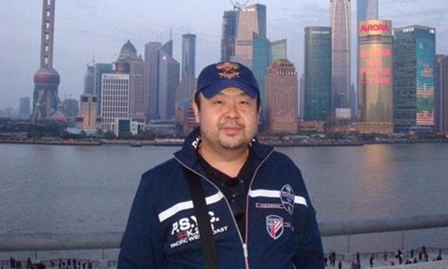 Ông Kim Jong-nam trong một lần ở Thượng Hải. Ảnh: Telegraph