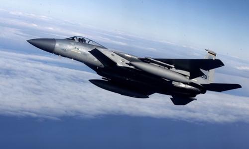 Chiến đấu cơ F-15 của Mỹ. Ảnh: Reuters.
