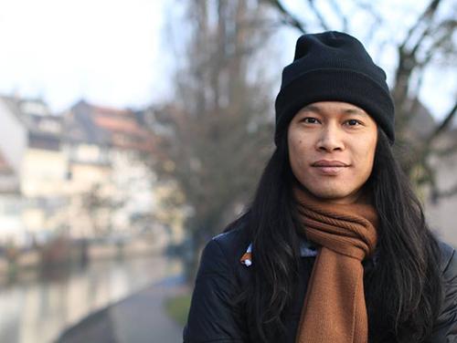 Phan Thanh Hiền đang du học ở Pháp và thời gian tới sẽ Việt Nam với mong muốn góp phần nhỏ bé trong lĩnh vực vật lý thiên văn. Ảnh: NVCC