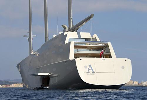 Siêu du thuyền Sailing Yacht A. Ảnh: Rex
