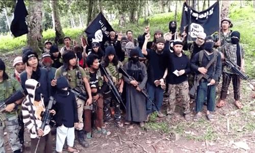 Nhóm phiến quân Abu Sayyaf. Ảnh: BBC.