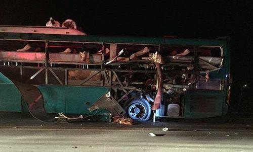 2 người chết, 12 người bị thương vụ xe khách nổ