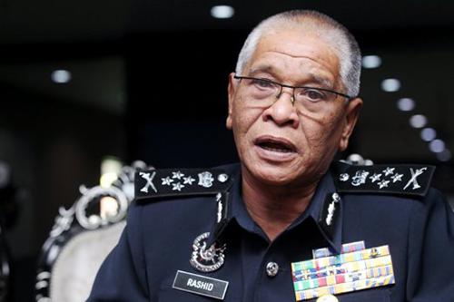 Phó chánh thanh tra cảnh sát Noor Rashid Ibrahim. Ảnh: NST