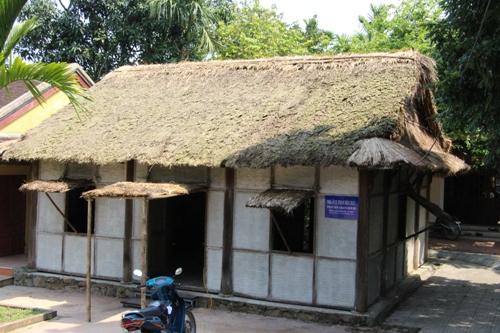 Khu di tích Phan Bội Châu, nơi có bia kỉ niệm quan hệ giao lưu Việt - Nhật