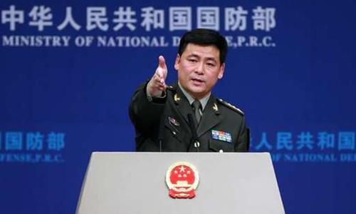 Nhậm Quốc Cường, người phát ngôn Bộ Quốc phòng Trung Quốc. Ảnh: China Daily