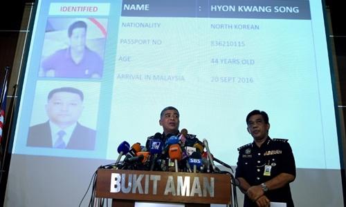 Cảnh sát Malaysia hôm nay công bố thêm hai nghi phạm mới. Ảnh: AFP