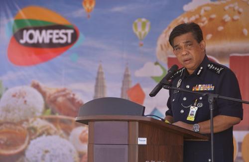 Cảnh sát trưởng bang Selangor Abdul Samah Mat. Ảnh: The Star