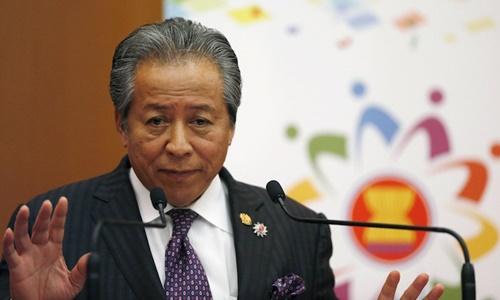 Ngoại trưởng Malaysia Anifah Aman. Ảnh: Reuters