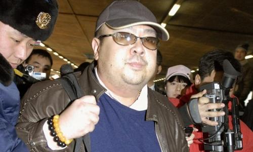 Kim Jong-nam đến Bắc Kinh, Trung Quốc năm 2007. Ảnh: Reuters