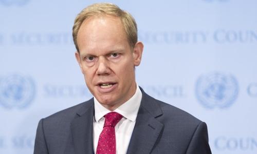 Đại sứ Anh tại Liên Hợp Quốc Matthew Rycroft. Ảnh: UNA-UK.