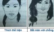 Đoán tính cách phụ nữ qua 31 khuôn mặt