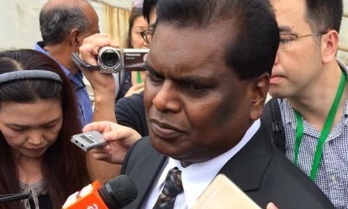 Luật sư Selvam Shanmugam. Ảnh: CNA