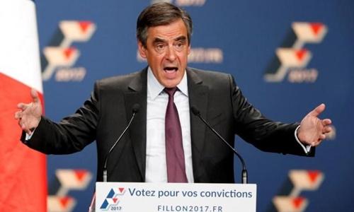 Ứng viên tổng thống Pháp Francois Fillon. Ảnh: Reuters