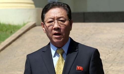 Đại sứ Triều Tiên tại Malaysia Kang Chol. Ảnh: Star.