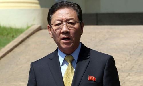 Đại sứ Triều Tiên tại Malaysia Kang Chol. Ảnh: Star