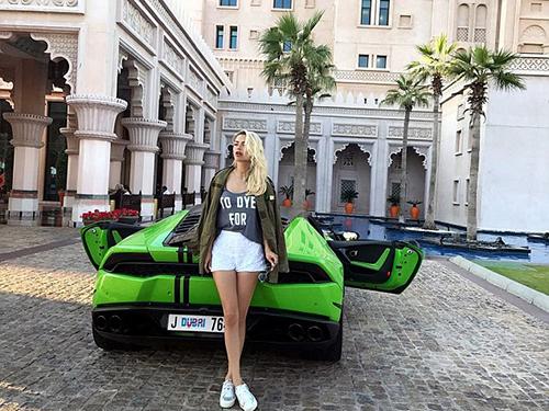 Bonya là người mẫu, diễn viên và dẫn chương trình thành công ở Nga. Ảnh: Instagram