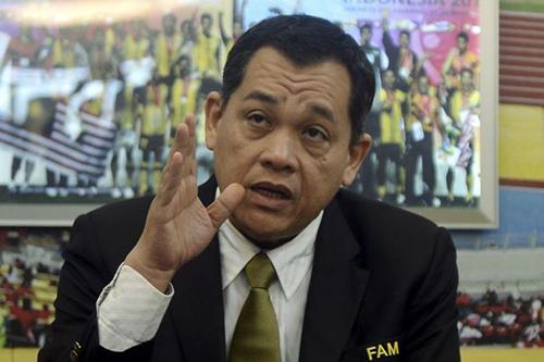 Tổng thư ký Liên đoàn Bóng đá Malaysia (FAM) Hamidin Mohd Amin