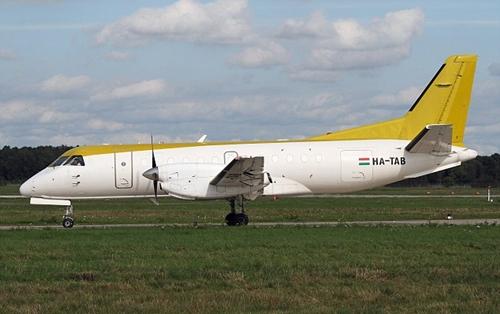 Máy bay chở hàng Saab 340. Ảnh: Wikipedia