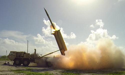 Hệ thống tên lửa THAAD. Ảnh: Missile Defense Agency.