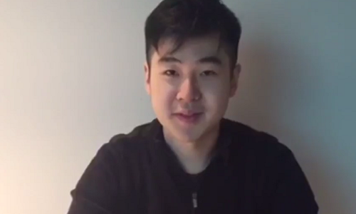 Người được cho là Kim Han-sol, con trai ông Kim Jong-nam. Ảnh: Channel News Asia