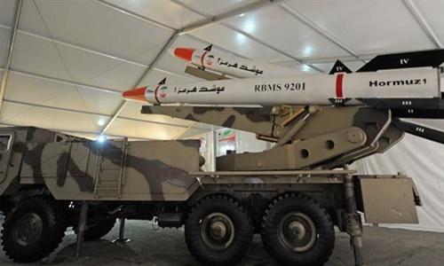 Tên lửa Hormuz-1 và Hormuz-2 do Iran tự sản xuất. Ảnh: Tasnim.