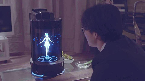 Công ty Vinclu Inc đã sáng tạo ra một người vợ 3D