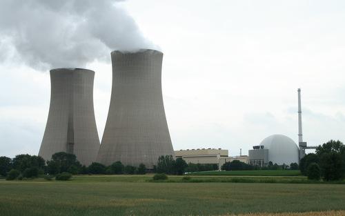 Nhà máy điện hạt nhân Grohnd bị đóng cửa để bảo đảm an toàn. Ảnh:Wikipedia.