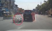 Video cô gái trùm khăn lao vào ôtô xem nhiều nhất tuần qua