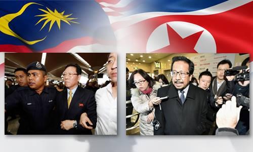 Một tháng lao dốc quan hệ Malaysia - Triều Tiên. Đồ họa: Việt Chung - Vũ Hoàng