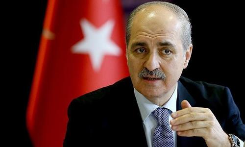 Phó thủ tướng Thổ Nhĩ Kỳ Numan Kurtulmus. Ảnh: Vestnik Kavkaza.