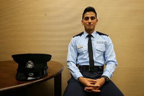 Sĩ quan cảnh sát Hong Kong Ifzal Zaffar