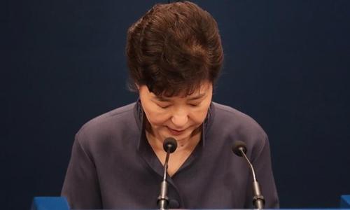 Tổng thống Park Geun-hye. Ảnh: Reuters.