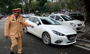 CSGT Hà Nội phạt hơn 6.600 tài xế trong 4 ngày dọn vỉa hè