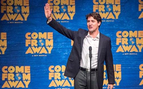 Thủ tướng Canada Trudeau. Ảnh: AP