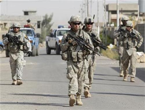 Binh sĩ Mỹ tại Iraq. Ảnh: Reuters.