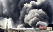 Biển lửa bao trùm tòa nhà 5 tầng, hàng trăm công nhân tháo chạy