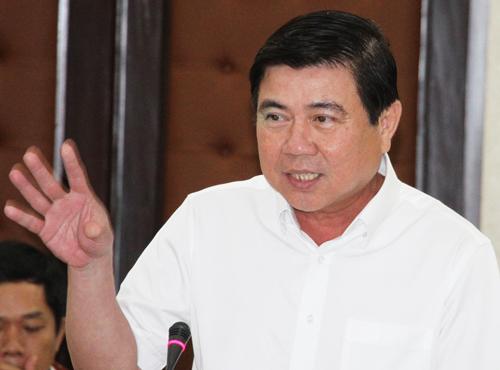 Chủ tịch TP HCM không tán thành sáp nhập các sở