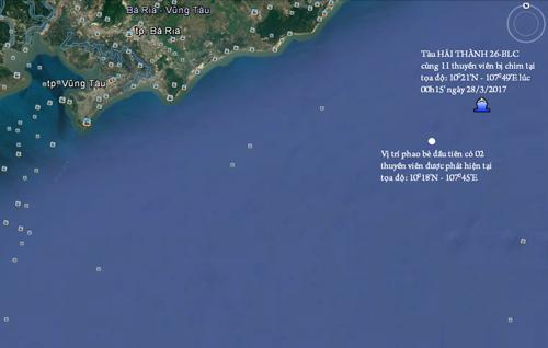 Hai tàu đâm nhau trên biển Vũng Tàu, 9 người mất tích
