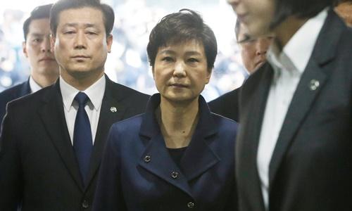 Cựu tổng thống Park Geun-hye. Ảnh: Reuters.