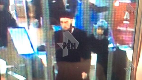 Nghi phạm trong vụ nổ ở St Petersburg. Ảnh: Ren TV.