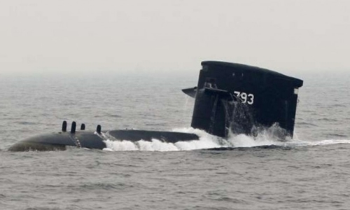 Một tàu ngầm của Đài Loan. Ảnh: