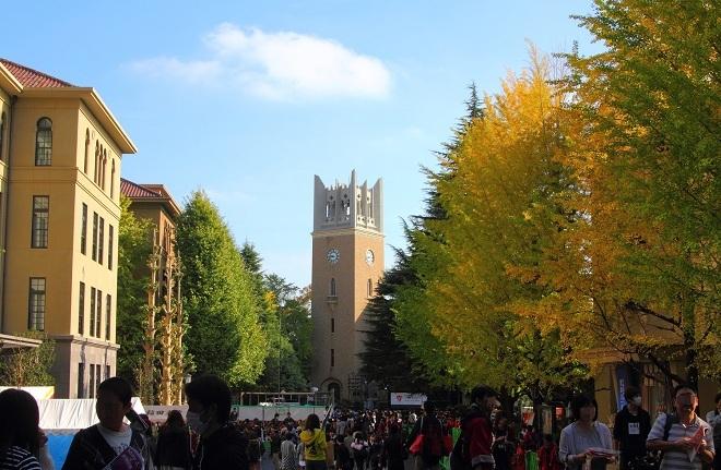10. Đại học Waseda Được thành lập vào đầu năm 1882 với tư cách là Cao đẳng Tokyo, Đại học Waseda (đổi tên từ năm 1902) là trường tư thục uy tín hàng đầu châu Á. Hiện, trường đào tạo hơn 50.000 sinh viên. Ảnh: Wikipedia