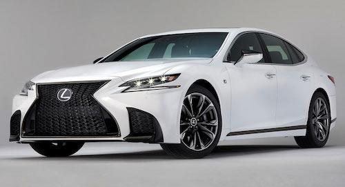 Lexus giới thiệu LS 500 F Sport là chiếc xe mang tính thể thao nhất trong phân khúc.