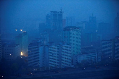 Military trucks drive through central Pyongyang before sunset as the capital preparers for a parade marking todays 105th anniversary of the birth of Kim Il Sung, North Koreas founding father and grandfather of the current ruler, April 15, 2017. REUTERS/Damir Sagolj 2/12leftright 3/12leftright 4/12leftright 5/12leftright 6/12leftright 7/12leftright 8/12leftright 9/12leftright 10/12leftright 11/12leftright 12/12leftright 1/12