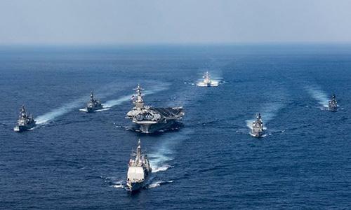 Chiến hạm Nhật rời cảng, có thể sắp diễn tập chung với tàu Mỹ - ảnh 1