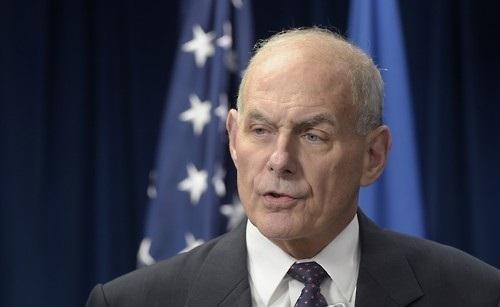 Bộ trưởng An ninh Nội địa Mỹ John Kelly. Ảnh: Yonhap