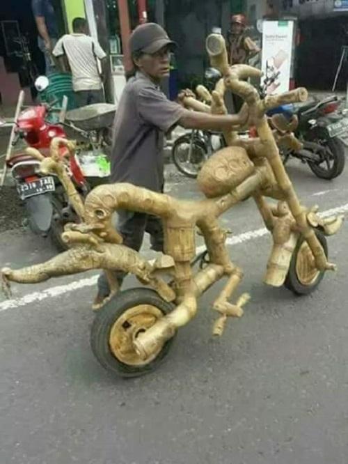 Siêu xe tự chế chất nhất Việt Nam.