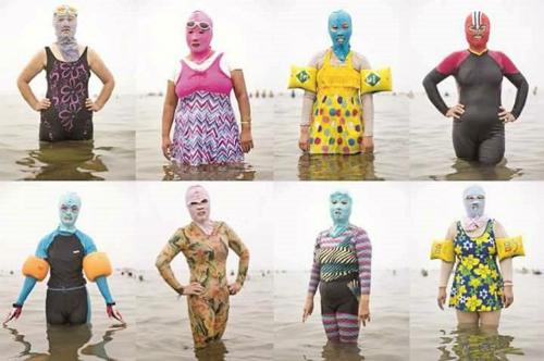 Mốt bikini chống nắng oanh tạc hè 2017.